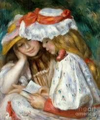 renoir reading photograph by granger renoir reading fine art