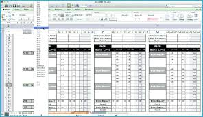 Excel Spreadsheet To Track Employee Training Workout Tracker Template Caseyroberts Co