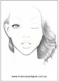 makeup and glow original face charts view detailed images 3