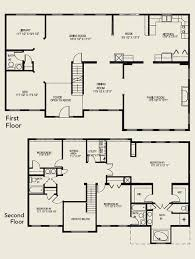 Delightful 2 Story House Plans With 4 Bedrooms