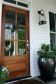 glass panel exterior door entry door swing wooden insulated glass panel exterior door