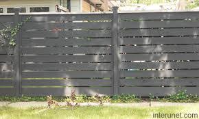 white horizontal wood fence. Wood-fence-horizontal White Horizontal Wood Fence I