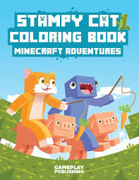 Small Picture Stampy Cat Coloring Book Minecraft Adventures Gameplay