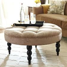 fabric ottoman coffee table comfortab round fabric ottoman coffee tab upholstery make into tab upholstery classic
