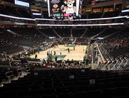 Bucks Seating Chart Fiserv Forum Section 110 Seat Views Seatgeek
