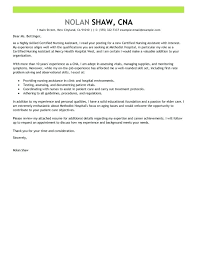 Sample Nursing Assistant Cover Letter Resume Nursing Resume Cover ...