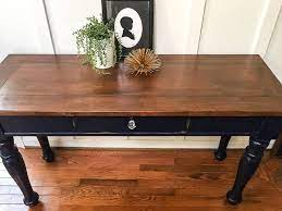 the best way to refinish a table top