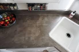 DIY Concrete Counters over Laminate using Feather Finish concrete skim coat