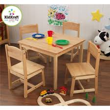 Kidkraft Heart Table And Chair Set Kidkraft Aspen Table And Chair Set Natural