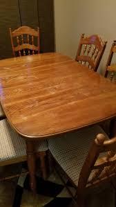 Solid Oak Kitchen Table Set Bismarck Nd
