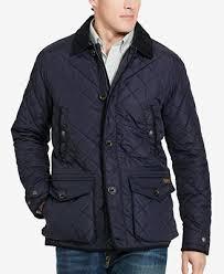 Polo Ralph Lauren Men's Big & Tall Diamond-Quilted Jacket - Coats ... & Polo Ralph Lauren Men's Big & Tall Diamond-Quilted Jacket Adamdwight.com