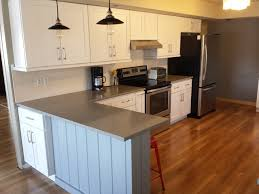 white shaker cabinets with quartz countertops. white shaker cabinets and concerto quartz countertops contemporary-kitchen with