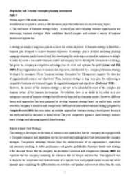 hospitality and tourism business strategies planning essay  page 1 zoom in