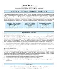Sample Resume For Accounting Musiccityspiritsandcocktail Com