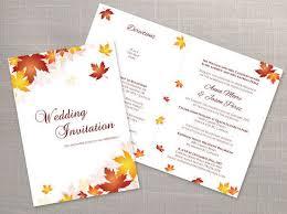 Foldable Invitation Template Diy Printable Wedding Folded Invitation Card Template Editable Ms