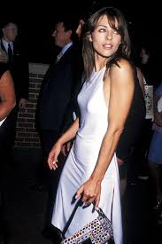 Elizabeth hurley wore a dress by. Liz Hurley Circa 1990 Is So On Trend For Now Hurley Dress Hurley Style 90s Girl