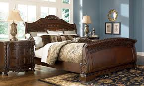 furniture t north shore: north shore bedroom set north shore sleigh bed ashley furniture b