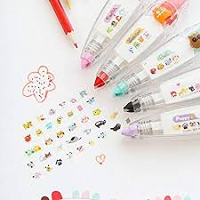 Chris.W <b>5Pcs</b> Novelty <b>Cute Cartoon</b> Correction Tape Pen Kawaii ...