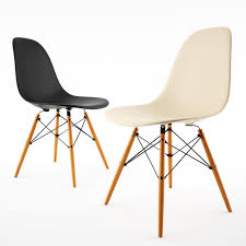 Famous Plastic Chair Design Side Chair By Vitra Eames Eames Gray Dining Chairs