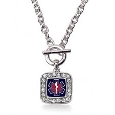 ems classic charm toggle necklace