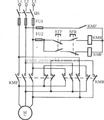 index 5 relay control control circuit circuit diagram reversible controlling point of the three phase motor short brake circuit
