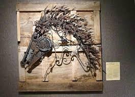 metallic wall art wall metal art wall art decor s horse iron metal wall art outdoor