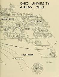 50 best aerial views and maps of the ohio campus images on Ohio Colleges Map the ohio alumnus, october 1963 map of ohio university campus in 1963 ohio college map