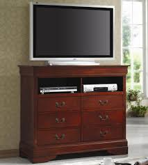 tv dresser. coaster louis philippe cherry tv dresser tv