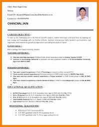 Resume Bio Example Resume Bio Example Lovely Resume Format Job Application Mechanical 95
