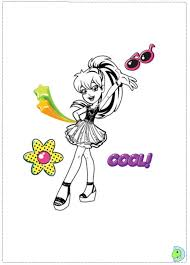 Small Picture Polly Pocket Coloring Pages artereyinfo