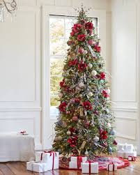 ... Silverado Slim Artificial Christmas Tree in-home by Balsam Hill ...