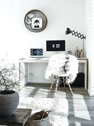 white home office. Aesthetic Room Decor Black And White Home Office Modern Apartment Shop