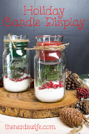 How To Decorate A Mason Jar DIY Christmas Mason Jar Candle Holder 64