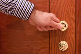 germs on a door handle