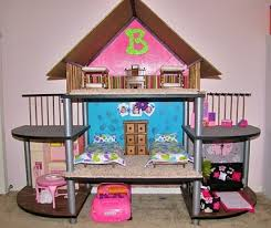 how to make barbie furniture. fine make diy barbie house  from small entertainment stand wow cool idea plus it  would make a great doll house for any doll you can all sorts of furniture and  to how make furniture