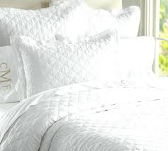 White Bedspread King White Quilted King Size Pillow Shams White ... & White Bedspread King White Quilted King Size Pillow Shams White King Single  Quilt Cover Scroll To Adamdwight.com