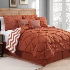 Modern Orange Bedding Sets | AllModern & Germain Comforter Set Adamdwight.com
