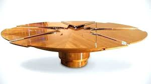 expandable round dining table the erfly expandable round glass dining table expand