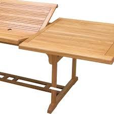 Tavolo Da Terrazzo In Legno : Tavolo da giardino allungabile esterno in legno