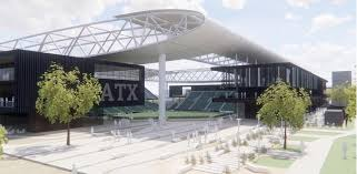 an artist s rendering of a soccer stadium at mckalla place in north austin
