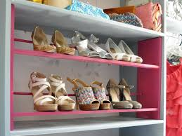 Build In Shoe Cabinet How To Build A Shoe Rack For Your Closet Hgtv