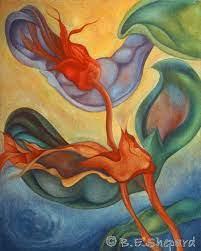 Life Cycles 1 Painting by Barbara Shepard   Saatchi Art