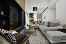 studio track lighting. Black Floor Lamp And Track Lighting Complement The Space Design Around TV Studio T
