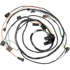 Restoparts 17445 m h engine wiring harness 1971 chevelle el camino