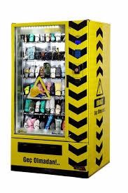 Ppe Vending Machine Interesting PPE Vending Machine At Izmir Health And Safety Summit Elektral As