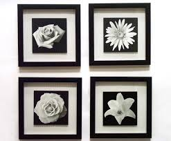 order this item black framed wall art big tree black and white flowers elegant wonderful