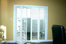 shutters for sliding glass doors plantation or door county reviews interior wood