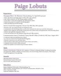 Unemployment Beth Wertz Resume Design