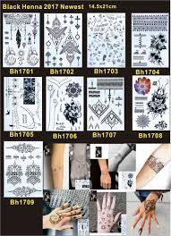 10 штлотпартия черная хна тату временная татуировка хной классическая мандала
