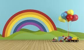 kids bedroom paint designs. Rainbow Wall Kids\u0027 Room Kids Bedroom Paint Designs